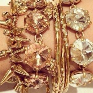 :: S&D Peach Amelie Sparkle Bracelet